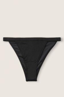 Victoria's Secret PINK Ribbed High Leg Bikini Bottom