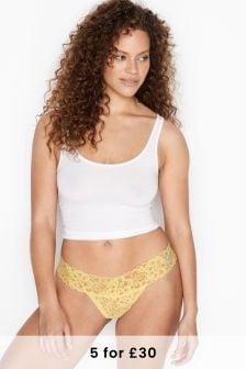 Victoria's Secret Secret Lace-Up Thong Panty