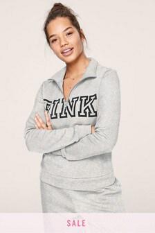 Victoria's Secret PINK Everyday Lounge Perfect Quarter Zip