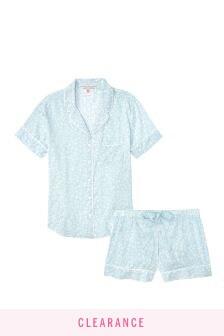 Victoria's Secret Cotton Short PJ Set