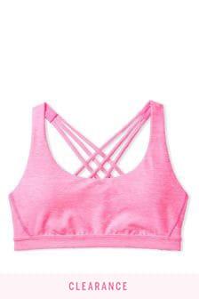 Victoria's Secret Incredible Essential Strappy Back Heathered Bra