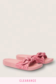 Victoria's Secret Pink Bow Slides