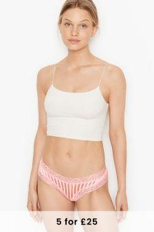 Victoria's Secret Lace Waist Cheeky Panty