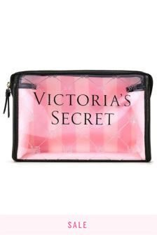 Victoria's Secret Iconic Stripe Beauty Bag
