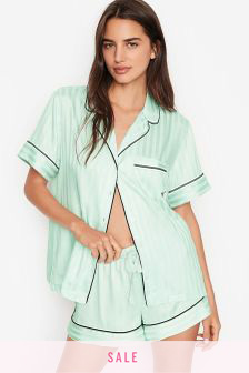 Victoria's Secret Satin Short Pyjama Set