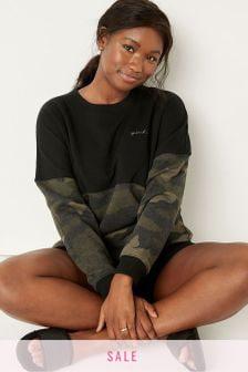 Victoria's Secret PINK Varsity Crew Sweatshirt