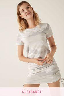 Victoria's Secret PINK Adjustable RuchedSide TShirt Dress