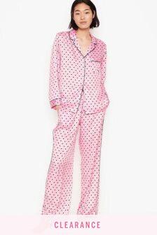 Victoria's Secret Satin Long Pyjama Set