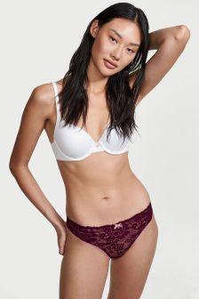Victoria's Secret Lace Front Thong Panty