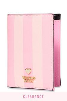 Victoria's Secret Signature Stripe Passport Case
