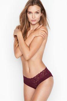 Victoria's Secret Secret Floral Lace Hiphugger Panty