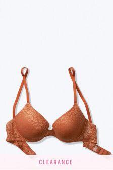 Victoria's Secret PINK Wear Everywhere Lace Push-Up Bra
