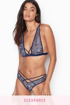 Victoria's Secret Crossover Embroidered Cheeky Panty