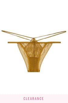 Victoria's Secret Lace String Bikini Panty