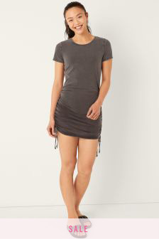 Victoria's Secret PINK Ruched Side T-Shirt Dress