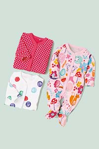 Sleepsuits, Sleep Bags & Rompers - Girls