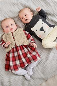 赤ちゃんの初めてのクリスマス - ガールズ
