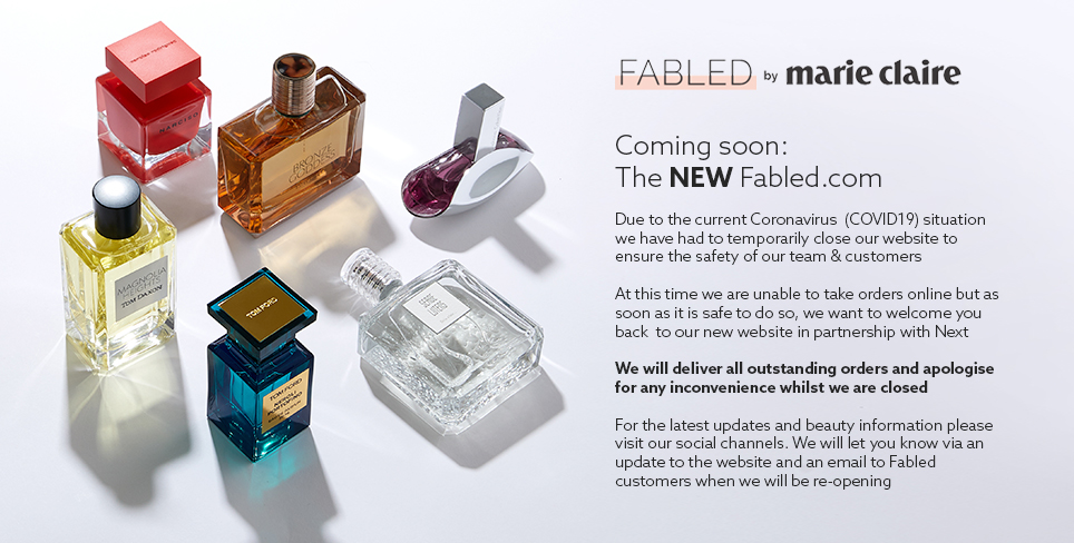 Coming soon: the new Fabled.com. Due to the current situation we are unable to accept orders. The site will re-open shortly - please check back for updates.