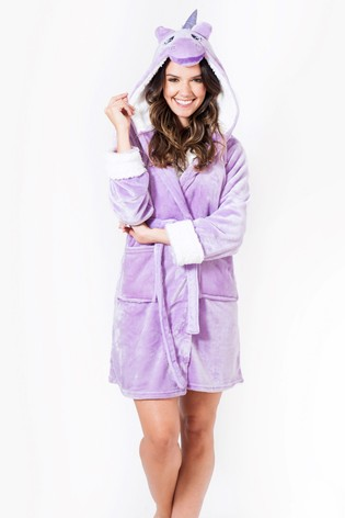 Buy Want That Trend Deluxe Unicorn Dressing Gown from Next Bahrain