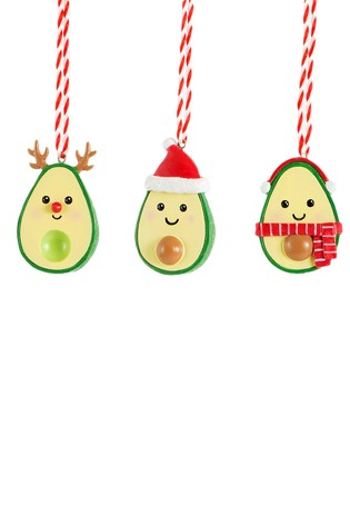 Buy Sass & Belle Set Of 3 Merry Xmas Hanging Decorations from the ...