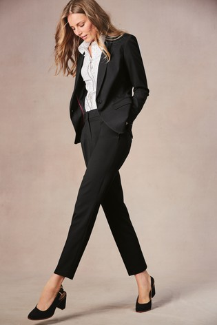 5fa2964bdc523 Buy Black Single Breasted Tailored Fit Jacket from the Next UK ...