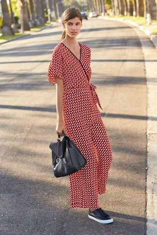 e27d1d70e2d4 Buy Red Geometric Jumpsuit from the Next UK online shop