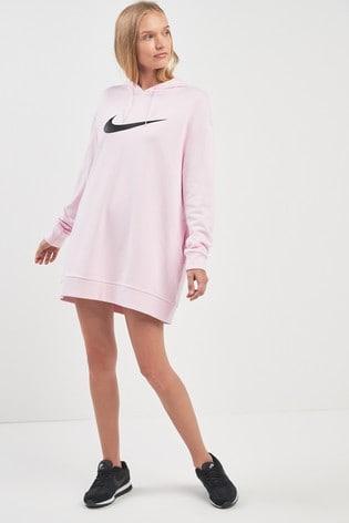 b177fcd37 Buy Nike Swoosh Longline Overhead Hoody from the Next UK online shop