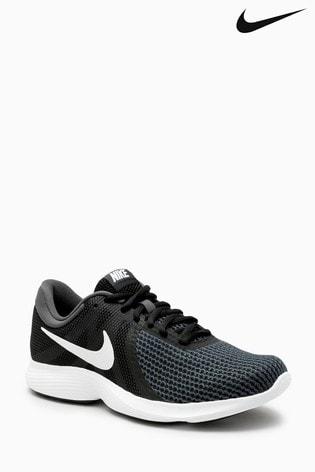best sneakers ec703 72d49 Zwart Nike Run Revolution 4