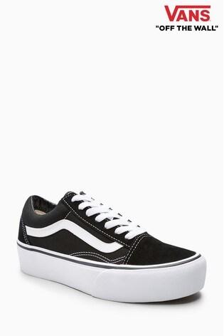3a97e054f5 Buy Vans Black White Platform Old Skool from Next Ireland