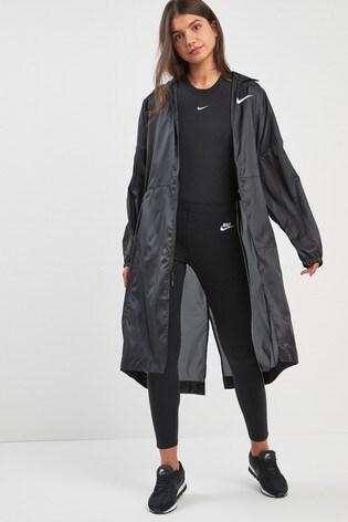 b405b086c Buy Nike Black Swoosh Woven Jacket from the Next UK online shop