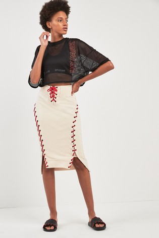 9870288a2d3b1 Buy Ivy Park Sand Craft Skirt from the Next UK online shop