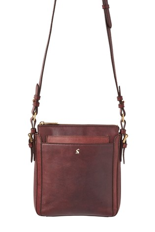 40959cd0c4 Buy Joules Brown Dunton Leather Bag from the Next UK online shop