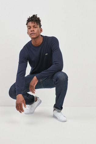103e904cdc Buy Lacoste® Knitted Crew from Next Ireland