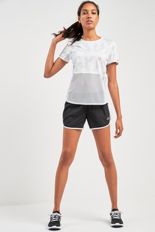 8799c062a Buy adidas White Own The Run Tee from the Next UK online shop