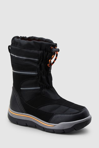 Buy Black Snow Boots (Older) from the Next UK online shop f042f7e26