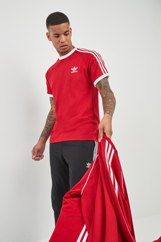 8a67336f Buy adidas Originals 3 Stripe California T-Shirt from the Next UK ...