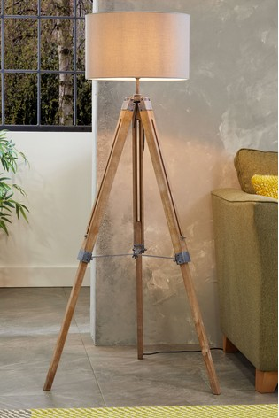 newest 30269 85475 Alpine Tripod Floor Lamp