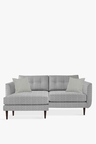 new arrival 994d5 fee63 Orla Kiely Linden Large Chaise Sofa With Walnut Feet