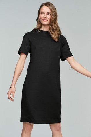 Koko Taille Plus Gold Spot Shift Dress