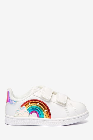Buy Light Up Rainbow Trainers (Younger