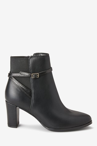 Buy Forever Comfort® Heeled Ankle Boots