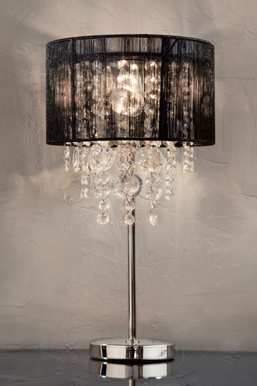 Palazzo Table Lamp From The Next Uk, Chandelier Table Lamp Shades Uk