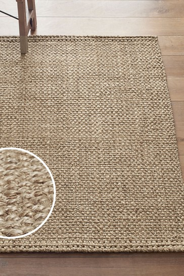 Buy Woven Jute Rug From The Next Uk Online Shop