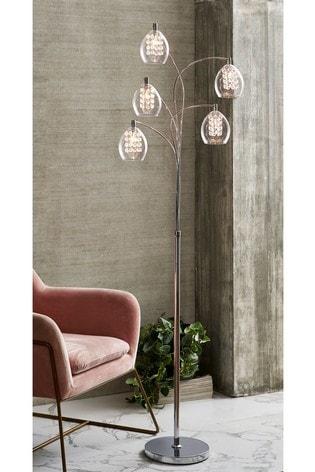 Bella 5 Light Floor Lamp From The, Pretty Floor Lamps