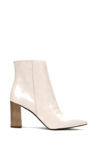 Buy Mint Velvet Melanie Off White Boots