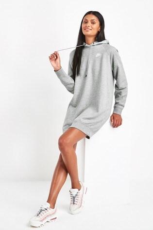 spotykać się przemyślenia na temat duża zniżka Nike Sportswear Essential Fleece Dress