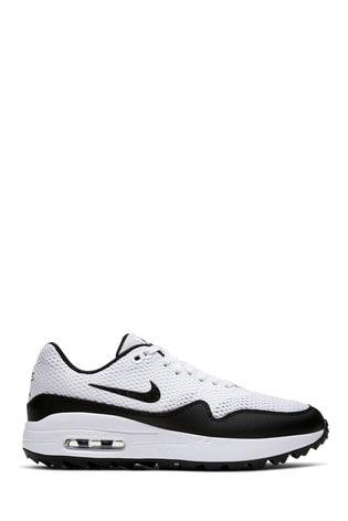 Están deprimidos Espejismo mercenario  Buy Nike Golf White Air Max 1 Trainers from the Next UK online shop