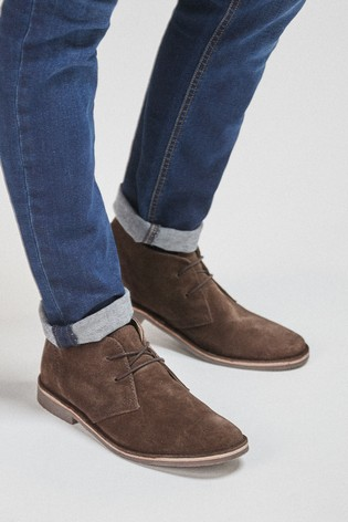 Buy Khaki Desert Boots from the Next UK