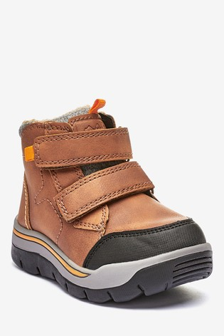 Buy Tan Double Strap Walking Boots Younger From Next Egypt