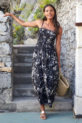 f20555eb78dba7 Buy Black Floral Maxi Dress from Next Netherlands